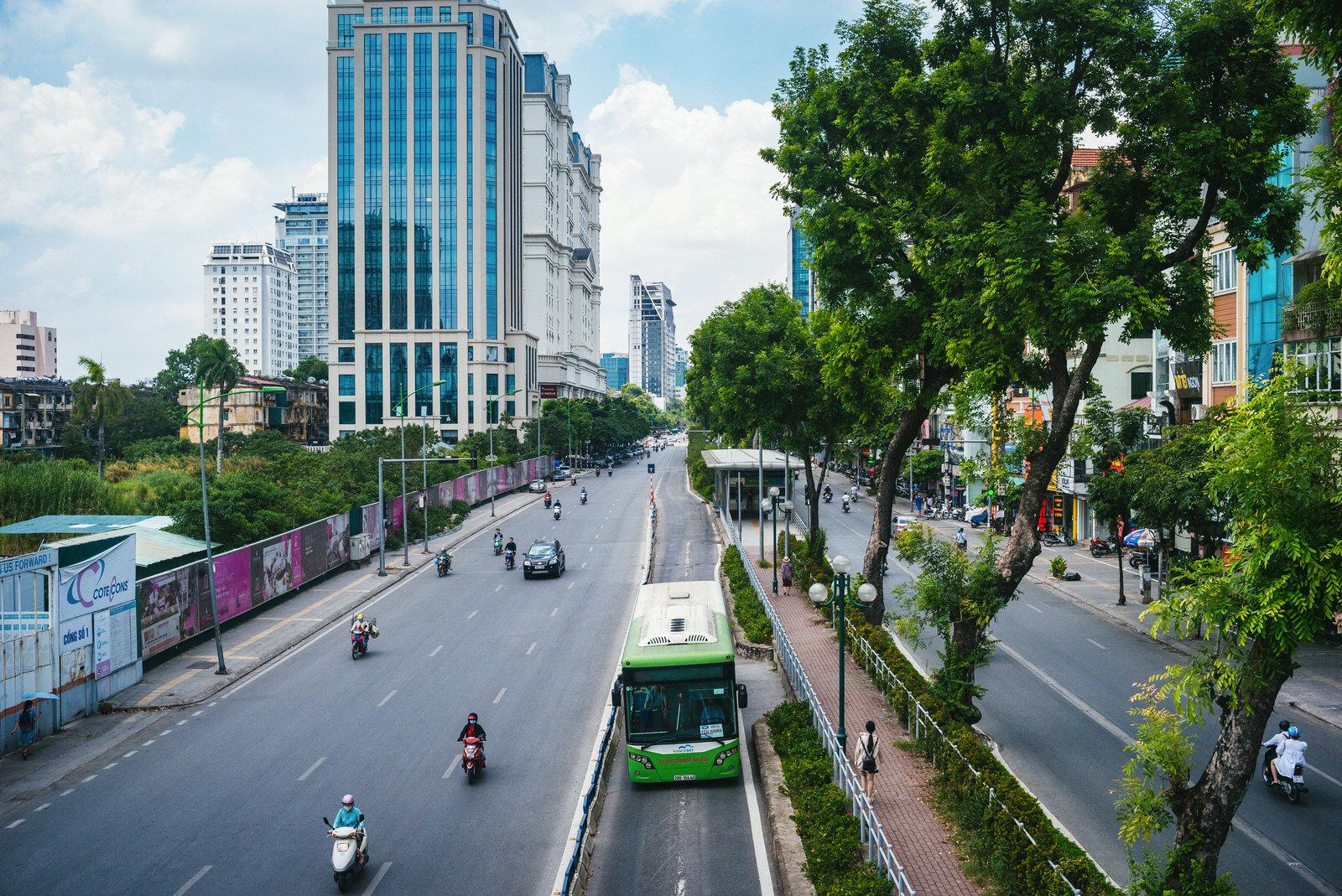 GIZ transportation bus street hanoi